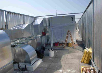 Climatizacion del Centro de salud Albayda La Cruz