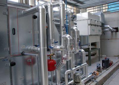 Climatización Centro de Investigación Biomédicas (CIBM) de Granada.