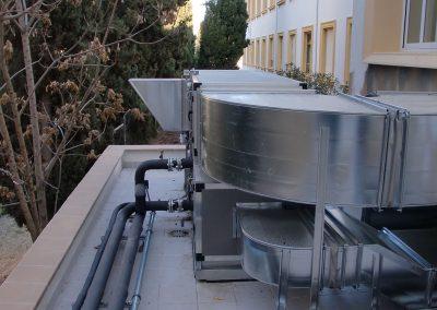 Climatización Iemat - Universidad de Granada